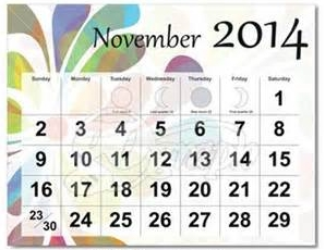 2014 November<BR>MESSENGER<br>and CALENDAR