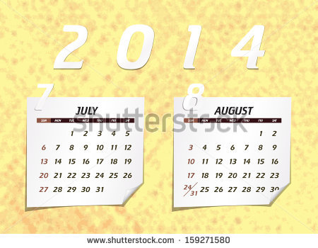 2014 JULY-AUGUST<BR>MESSENGER<br>and CALENDAR